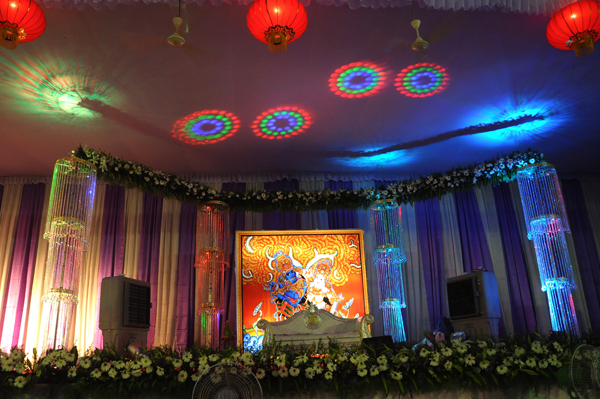 School stage decorations for annual day for Auditorium stage decoration